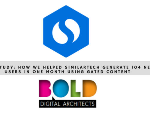 Case study: How we helped SimilarTech generate 104 new users in one month using gated content