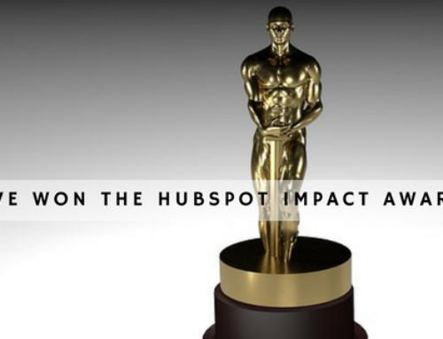 The HubSpot Impact Awards 2017 – we've won!
