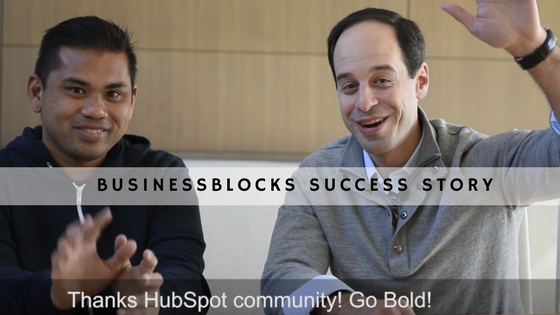 How BusinessBlocks Grew Their Business by 600% in 6 months using HubSpot and Amplified Inbound Marketing
